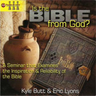 """Is the Bible from God?"" with Kyle Butt and Eric Lyons"
